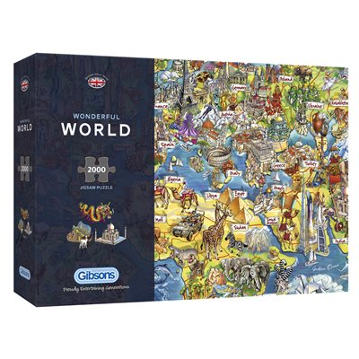 Wonderful World 2000pc
