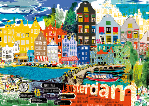 I love Amsterdam! 1000pc