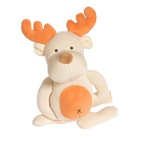 Knitted Teether Moose