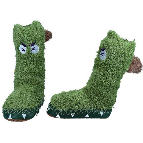 Monster Booties - Green