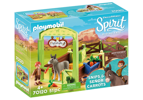 Playmobil Snips & Senor Carrots