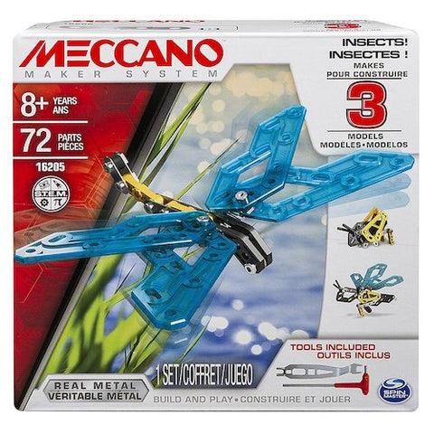 Meccano Insects 3 Model Set
