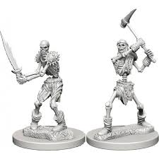D&D Miniature Skeletons