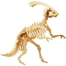 3D Wood Kit Small Parasaurolphus