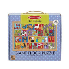Natural Play Floor Puzzle - ABC Animals
