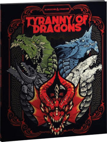 Dungeons & Dragons: Tyranny of Dragons Alt Cover