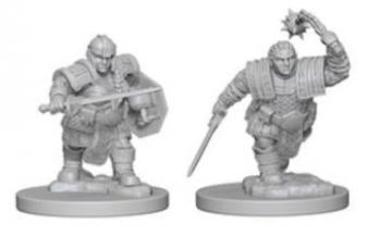 D&D Miniature Dwarf Fighter