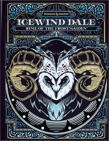 Icewind Dale: Rime of the Frost Maiden D&D Book (Alt Game Store Only Cover)