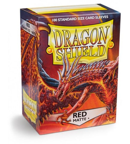 Dragon Shield Matte Red