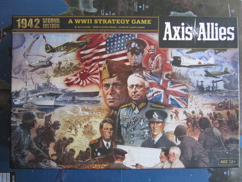 A&A Axis & Allies WWII 1942