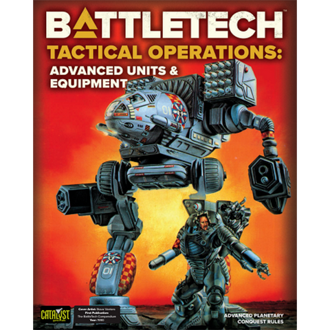 BattleTech Tactical Operations: Advanced Units and Equipment