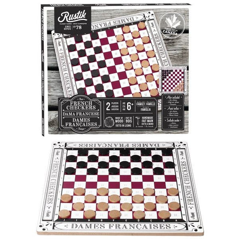 Classic French Checkers
