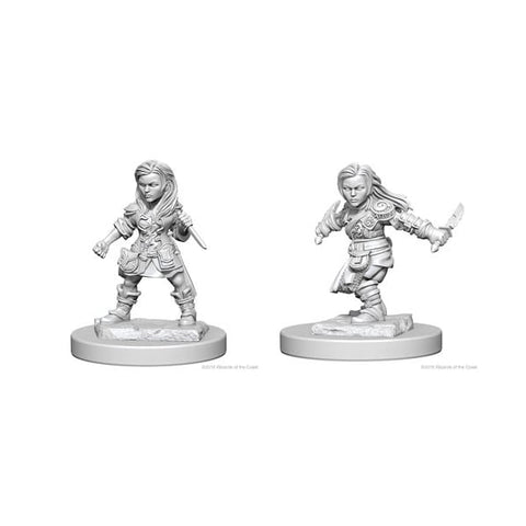 D&D Miniature Halfling Rogue female