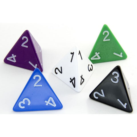 D4 Dice Assorted