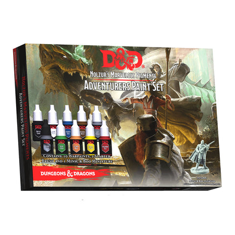 Nolzur's Marvelous Pigments: Adventureres Paint Set