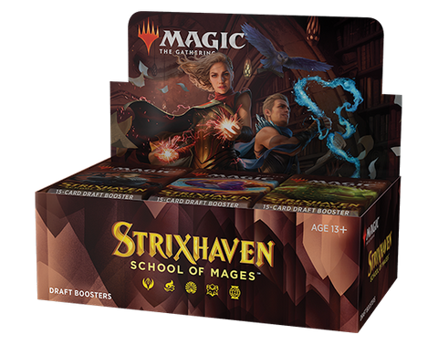 Strixhaven DRAFT Booster Box  (sealed box)