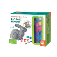 Paint Your Own Mosaic Bunny