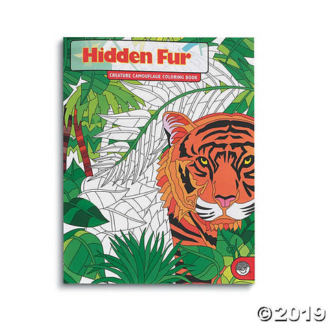 Hidden Fur - Creature Camouflage Coloring Book