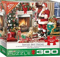 Santa's Best Friend 300pc
