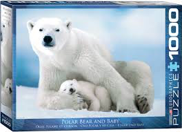 Polar Bear and Baby 1000pc