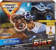 MONSTER JAM - DIRT STARTER SET - Megalodon