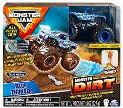 MONSTER JAM - DIRT STARTER SET - Blue Thunder