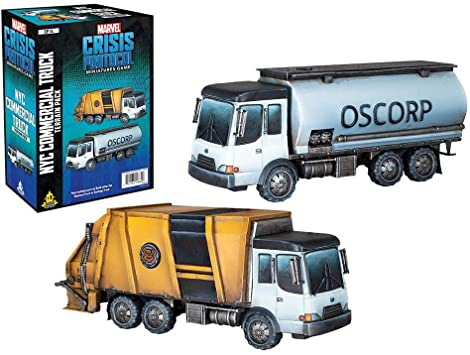 Marvel Crisis Protocol: Garbage Truck / Chem Truck Terrain Expansion
