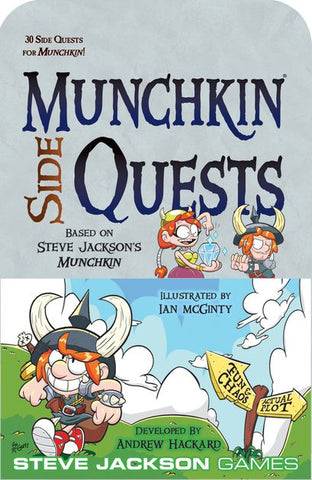 Munchkin Side Quests Expansion