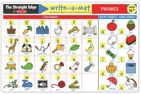 Phonics Learning Mat