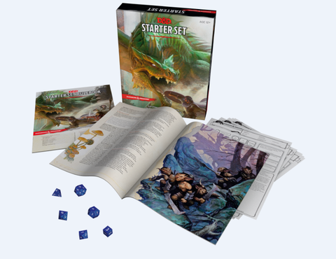 Dungeons & Dragons Starter Set Boxed
