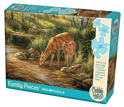 Deer Family - 350 pc Family Puzzle