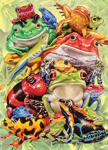 Frog Pile - 350 pc Family Puzzle