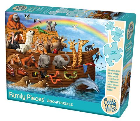 Voyage of the Ark - 350 pc Family Puzzle