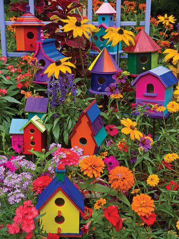 Birdhouses - 275pc