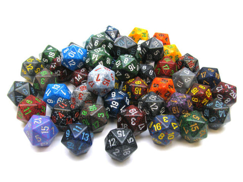 D20 Speckled
