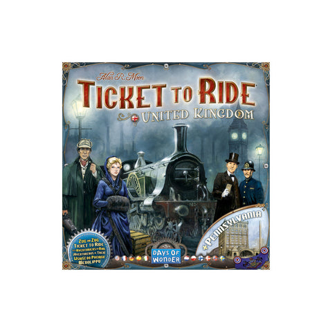 Ticket to Ride United Kingdom  + Pennsylvania
