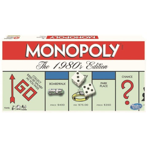 Monopoly The Classic 1980's  Edition