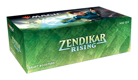 Zendikar Rising Draft Booster Sealed Box