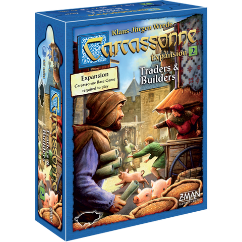 Carcassonne 2 Traders & Builders