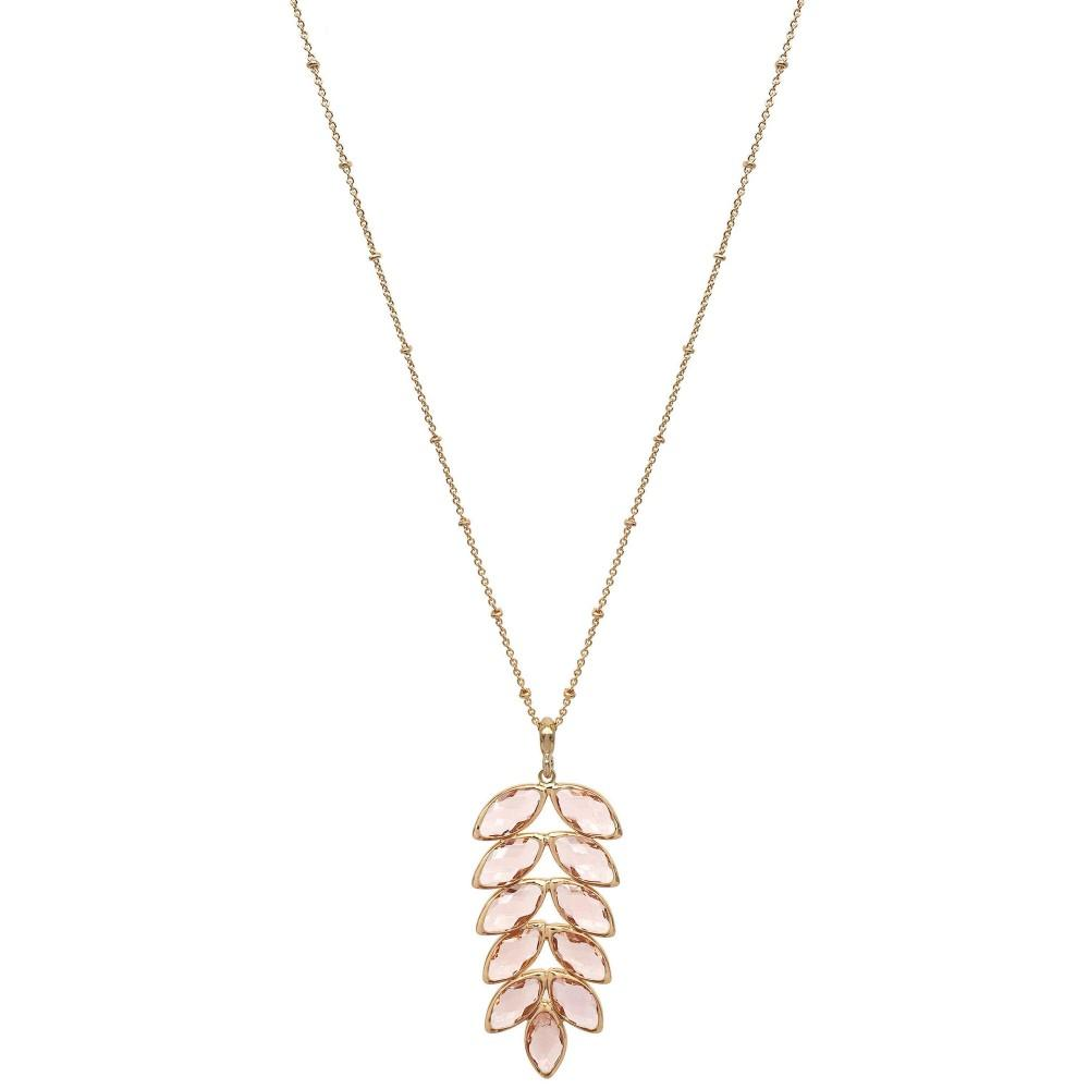 Blush Leaf Pendant