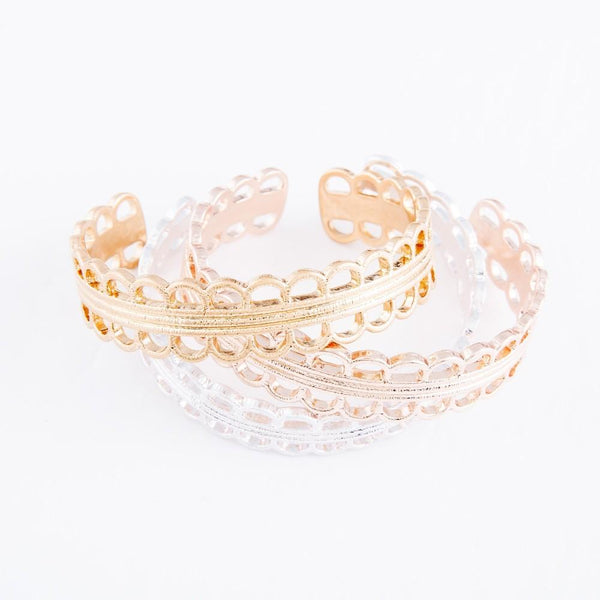 Filigree Cuff in Gold