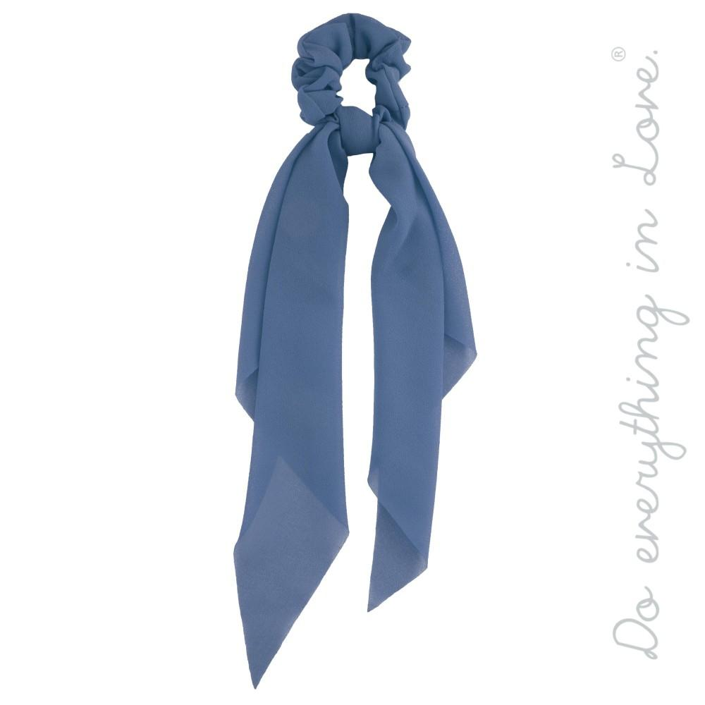 Pony Scarf in Blue