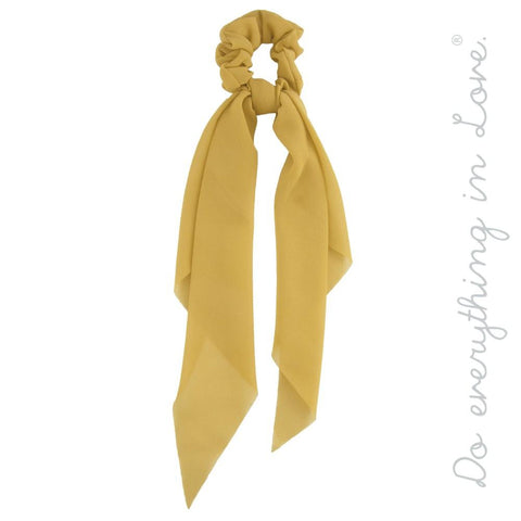 Pony Scarf in Mustard