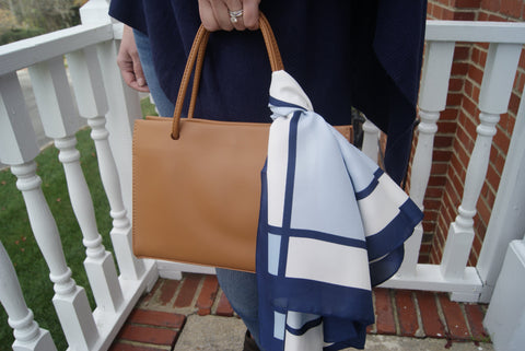 The Market Mini Tote in Camel