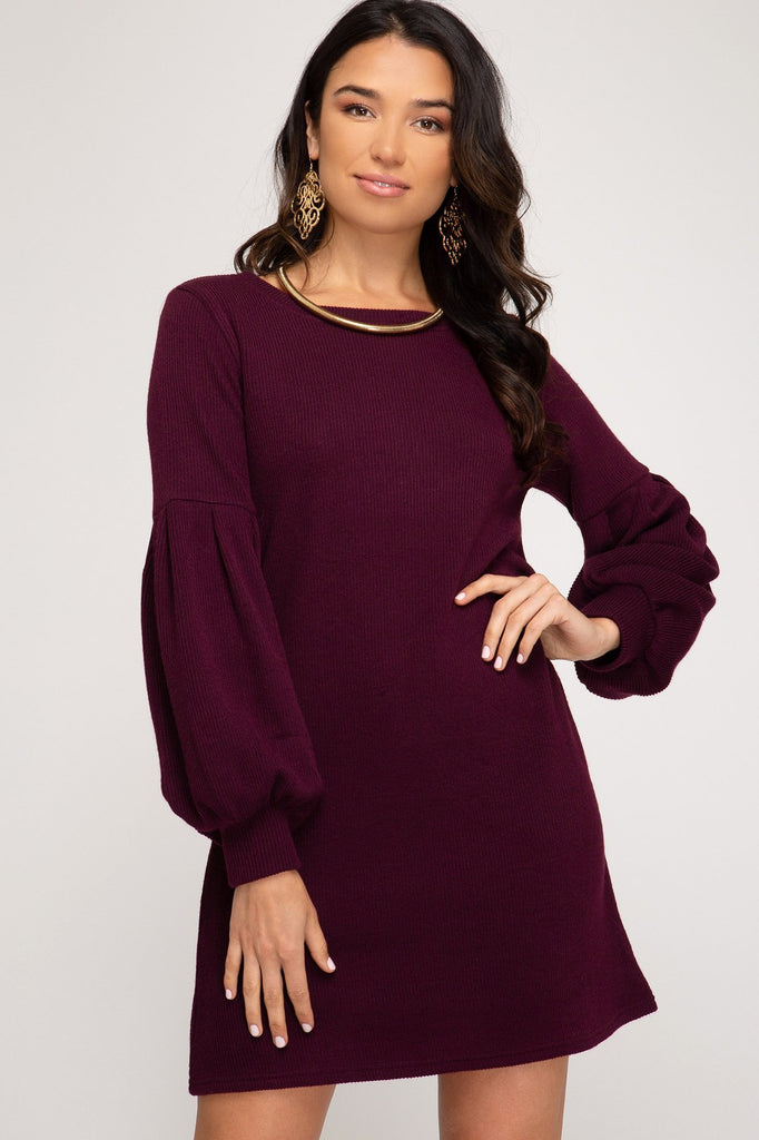 Sweater Weather Knit Dress
