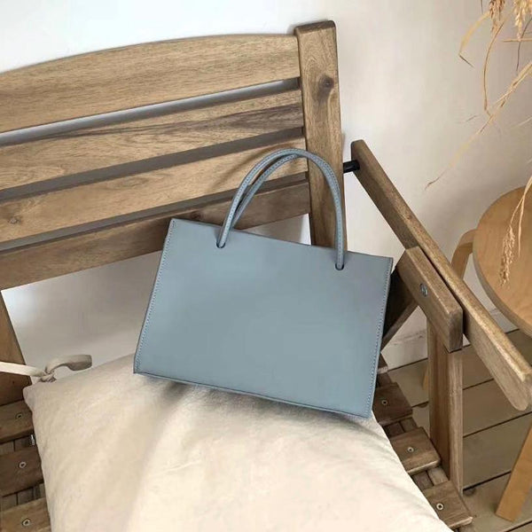 The Market Mini Tote in Sky Blue