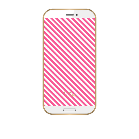Phone Wallpaper-Candy Stripes