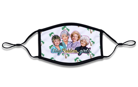 Golden Girls Face Mask