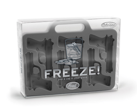 Freeze Hand Gun Ice Tray - Sweet Pea and Tulip
