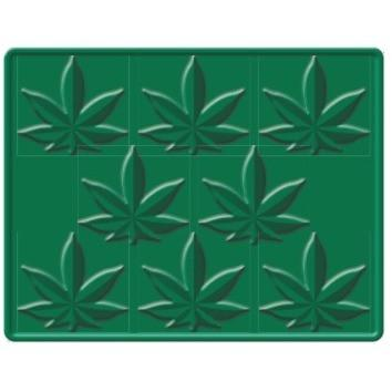 Marijuana Silicone Ice Cube Mold - Sweet Pea and Tulip